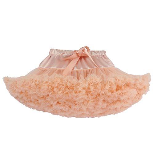 Fille Classique Rouge Élastique Princesse Acmede Ruffle Petticoat Jupe Jupe Danse Tutu Pêche Plissé Courte ZdnqCW0