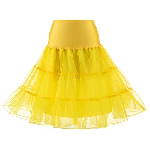 Donna SANFASHION SANFASHION Vestito Bekleidung Bekleidung Gelb nqFqPT4