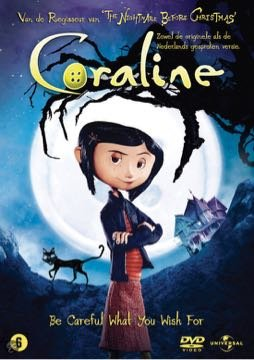 CORALINE DVD (Coraline Movie Dvd)