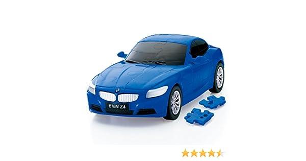 Amazon Com Car Puzzle 3d Bmw Z4 Blue Toys Games