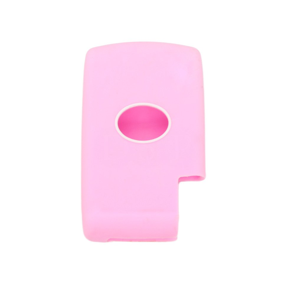 SEGADEN Silicone Cover Protector Case Skin Jacket fit for TOYOTA 3 Button Smart Remote Key Fob CV2414 Red