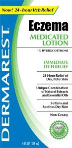 Dermarest lotion traitante, l'eczéma, 4 oz