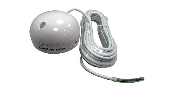 Evermore SA-320 Garmin puerto serie: azul 12 canales receptor GPS ...