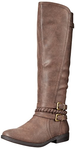 Dark Frauen Stiefel Brown Pumps Ram Indap Fashion Rund Rampage W4qB0TwW