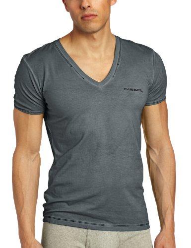 Diesel Men's Jesse V-Neck Undershirt, Black, Medium