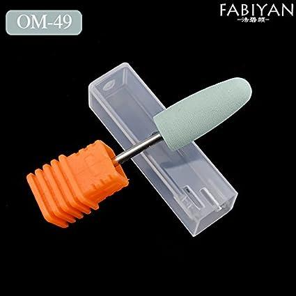 Generic OM49: Nail Art Drill Bits Silicone Quartz Grinding Head