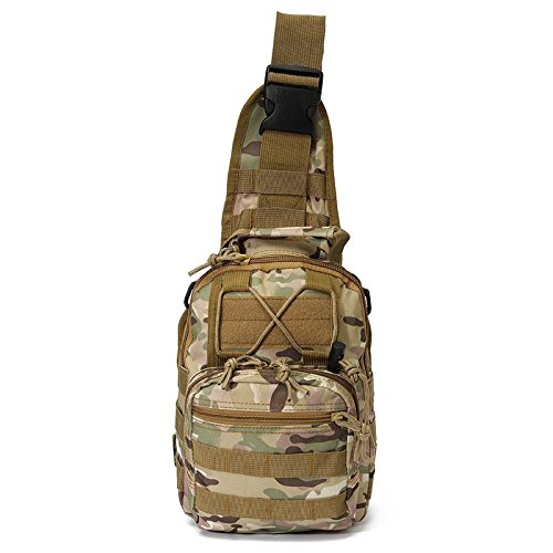 t Sale Outdoor Sport Nylon Tactical Military Sling Single Shoulder Chest Bag Pack camping hiking Backpack climbing bag (Hurley Canvas Backpack)