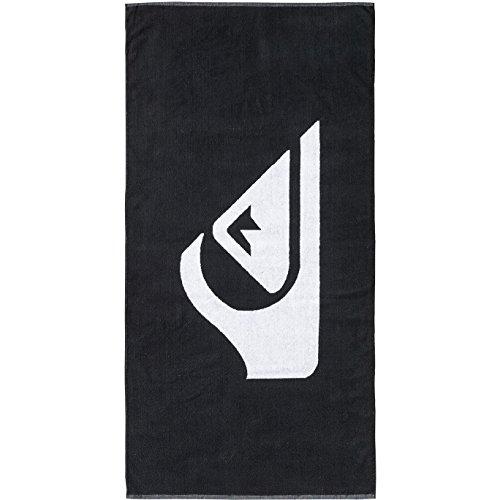 - Quiksilver Woven Logo Beach Towel One Size Black