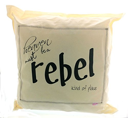 Heaven Must Be a Rebel Kind of Place Pillow, 16