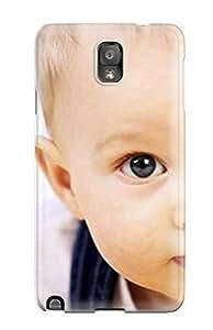taoyix diy Barbauller FQDrirq8679oOkAy Case Cover Galaxy Note 3 Protective Case Big Eyes Cute Baby