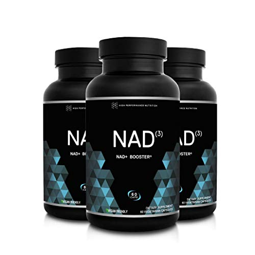 HPN NAD+ Booster – Nicotinamide Riboside Alternative (NAD3) for Men & Women | Anti Aging NRF2 Activator, Superior to NADH – Natural Energy Supplement for Longevity & Cellular Health, 60 Caps, 3-Pack by HPN (Image #6)