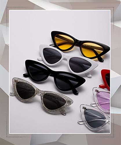 Retro Lente Vintage Ligero Mujer de Eye Cat Súper Gafas Polarizadas Sol UV400 Unisex C1 Espejo Fliegend Hombre Sol Gafas Gafas de gzzxa8