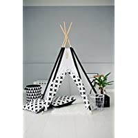 Kids Teepee Tent with 5 Poles,Play Tent,Kids Teepee