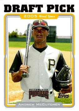 2005 Topps Update Baseball #UH329 Andrew McCutchen Rookie Card