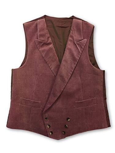 Zileri Size Cotton Wine 44r Pal Cord Waistcoat Concept In vxFFgzwq