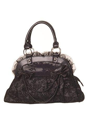 Bag Alternative Black Lace Reinvention Bag Gothic Alternative Banned Reinvention Black Gothic Banned Lace Aw6wFqC