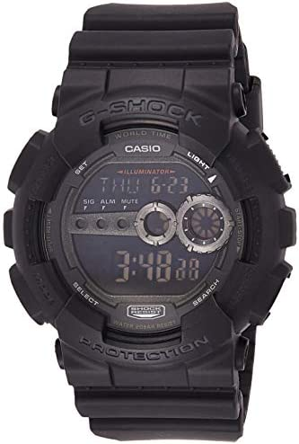 Casio Men s GD100-1BCR G-Shock X-Large Black Multi-Functional Digital Sport Watch