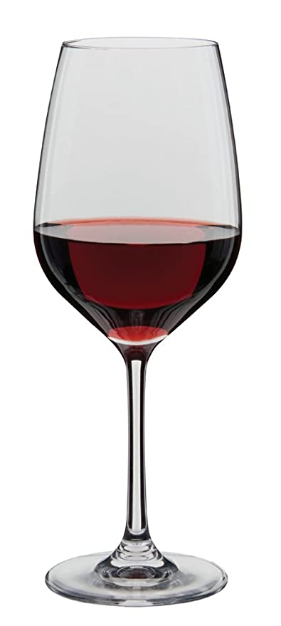 52d420f600a Dartington Crystal Essentials Red Wine Glasses, Set of 2: Amazon.co ...