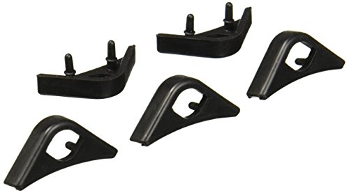 Noctua NA-SAVP1 Chromax Anti-Vibration Fan Mount Set - 16 Pack - Black (NA-SAVP1 black)