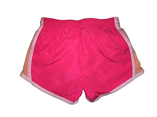 NIKE Girls Dry Tempo Running Shorts Racer Pink (267358-a4f) / White/Team Orange 3W7DNfd