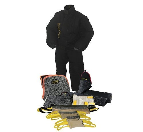 Dean & Tyler 13-Piece Professional Training Bundle Set for Dogs with 1 X-Large Bite Suit/1 Tri-Bite Sleeve/1 French Linen Cover/1 Advanced Bite Builder/9 Mixed Tugs