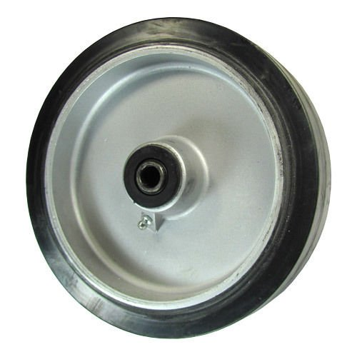 8'' x 2'' Rubber on Aluminum Wheel for Casters or Equipment Service Caster Brand