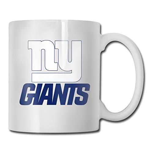 Jacoci Custom New York Giants Coffee Mug Office Cup,14 Ounces