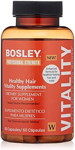 Bosley Professional Strength Hair, Skin and Nail Supplement for Women