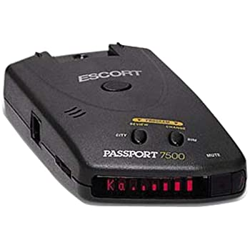 escort inc passport 7500 radar laser safety detector cell phones accessories. Black Bedroom Furniture Sets. Home Design Ideas