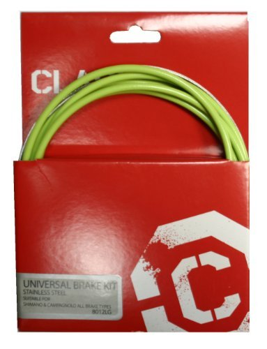 Clarks Universal Bicycle Bike Brake Cables Kit - Stainless Steel, Shimano and Campagnolo