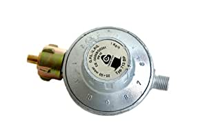 Paella World International - Regulador de presión de gas para parrilla, 11 niveles, 1 pieza, color multicolor