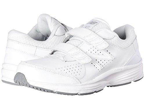 未払い苦味明らか(ニューバランス) New Balance レディースウォーキングシューズ?靴 WW411v2 Hook-and-Loop White 12 (29cm) D - Wide