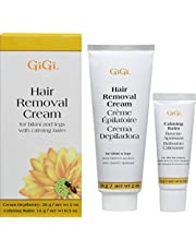 Gigi Hair Removal Cream For Face With Calming Balm (3 Pack)