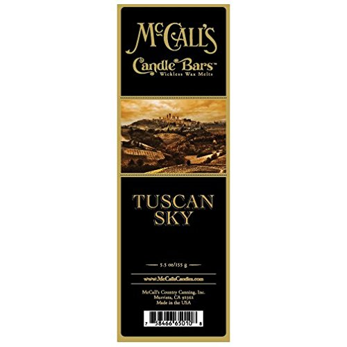 (McCall's Country Candles Candle Bar 5.5 oz. - Tuscan Sky)