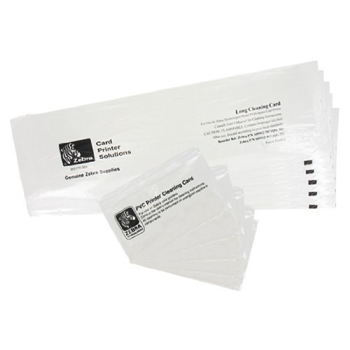 Zebra P330i & P430i Cleaning Card Kit (105912-913) - Zebracard Cleaning Card