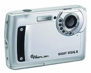 """Werlisa Night Vision - Cámara compacta de 5 Mp (pantalla de 2.7"""") color plateado"""