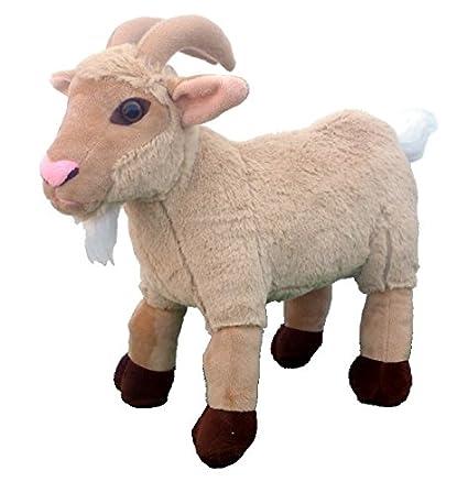 Amazon Com 15 Billy Goat Plush Stuffed Animal Toy Toys Games