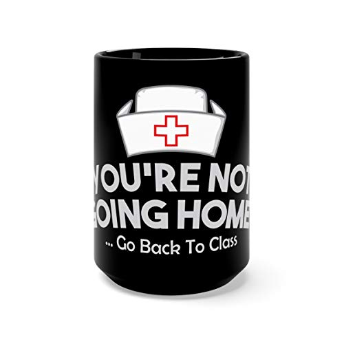 School Nurse Nurses Day Appreciation Week Tea Mugs Cups Ceramic 15oz Black (Best Stethoscope For Medical Students 2019)