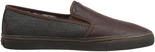 Tommy Bahama Mens Cresta Pacifica Mocassino Grigio Scuro / Marrone Scuro