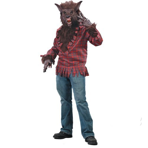 Werewolf Adult Costume Brown - Standard