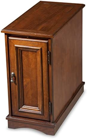 Butler Chairside Chest, Brown