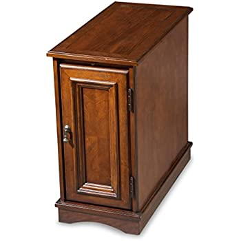 Amazon Com Butler Chairside Chest Brown Kitchen Amp Dining