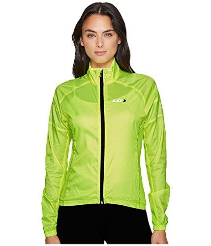 反逆者服を片付ける透明に(ルイガノ) Louis Garneau レディースサイクルジャケット Modesto 3 Cycling Jacket Bright Yellow MD M [並行輸入品]