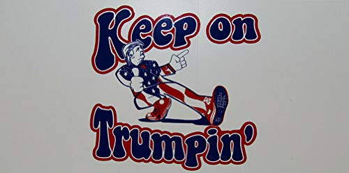 MWS Wholesale Lot of 6 Keep On Trumpin