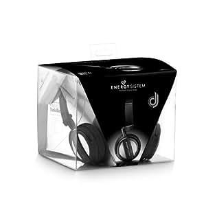 Energy Sistem Dj 500 Studio - Auriculares de diadema cerrados para DJ, negro