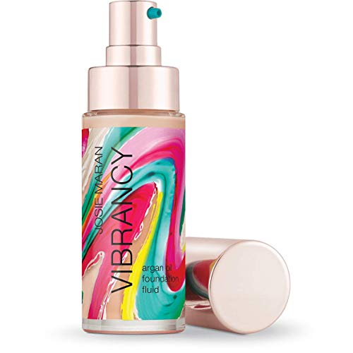 Josie Maran Vibrancy Argan Oil Foundation Fluid - Smooth, Supple, Baby-Skin Finish ThatÕs Alive With Color (30ml/1.0oz, - Cold Porcelain Magazine