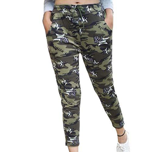 Aglobi Women's Slim Fit Casual Trousers