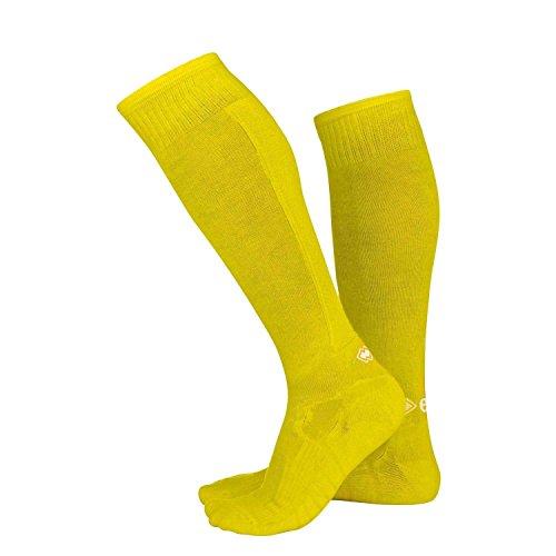 Errea calza active giallo fluo adulto taglia XL - 43-47