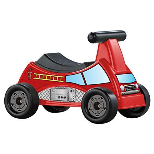 American Plastic Toys Fire Truck Ride-On (American Fire Trucks)
