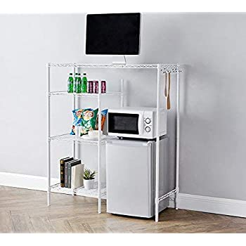 Amazon.com: Dorm Space Saver Over the Bed Storage Rack